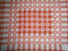 Creative Patterns: Chicken scratch embroidery