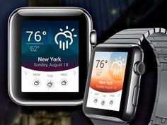 Apple Watch – Weather App