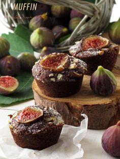 No Cook Desserts, Mini Desserts, Fig Dessert, Almond Muffins, Sweet Corner, American Cake, Biscotti, Muffin Recipes, Fett