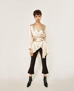 How To Do Winter, According To Zara #refinery29  http://www.refinery29.com/zara-winter-new-arrivals#slide-2  Zara Kimono Style Top, $39.90, available at Zara....
