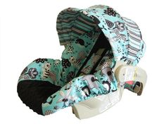 Baby boy car seat cover $69.00
