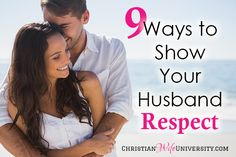 I didn't know what respecting my husband looked like when I first married him, but over the course of my marriage, I learned how. Here are 9 ways to show your guy respect.