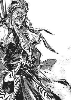 Masks Men, Kael Ngu on ArtStation at https://www.artstation.com/artwork/masks-men