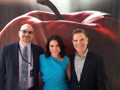 Lana at abc upfronts 2014 with Rick Mandler and Jack Myers.
