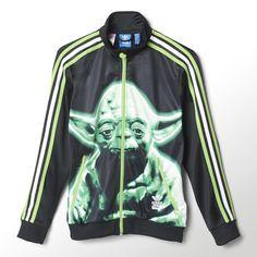 Wenn du diese Jacke für Jungs trägst, ist Yoda dein ständiger Begleiter. Damit du auf dem richtigen Weg bleibst, hat die Star Wars™ Jacke für Kinder und Teens einen Streifen an den Ärmeln, der im Dunkeln leuchtet.