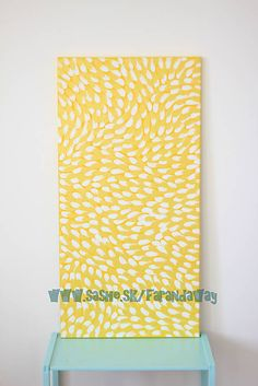 Petals {Yellow & White} Painting & Drawing, Abstract, Yellow, Drawings, Handmade, Paintings, Summary, Hand Made, Paint