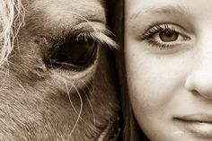 Friends - A girl and her horse => Friends forever. :)