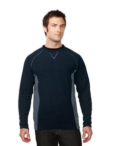Mens 100% Polyester Long Sleeve crew neck fleece. Tri mountain F7251 #Crewneck #Fleece #Polyester