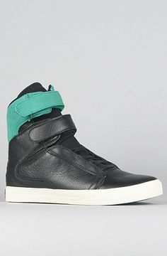 the society sneaker in black pink and teal