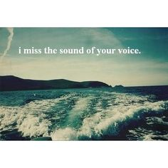 Sound of your voice