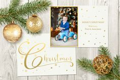Christmas Card Template by TheSeventhDesire on Creative Market