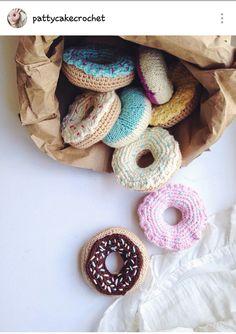 Crochet donuts …