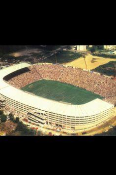 Estadio Cuscatlan de San Salvador. Sede de la seleccion. 55.000 pers. Abierto en 1976. El Salvador, CA.