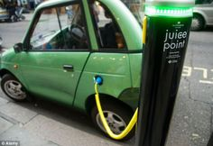 Drivers of electric cars like the G Wiz should be given privileges such as free parking according to think-tank IPPR