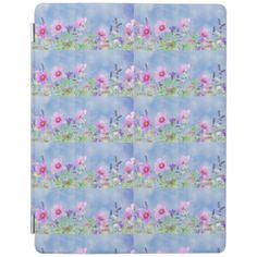 Women's trendy wild flower ipad cover Custom Brandable Electronics Gifts for your buniness #electronics #logo #brand