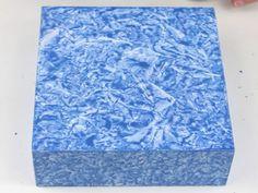 caixa efeito marmore