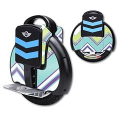 MightySkins Protective Vinyl Skin Decal for TGF3 Self Balancing one wheel electric unicycle scooter wrap cover sticker Pastel Chevron -- Check this awesome product by going to the link at the image.