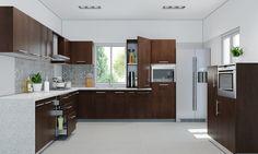 Imagini pentru l shape kitchen