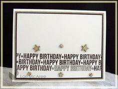 Smiling while Stamping: Star Birthday