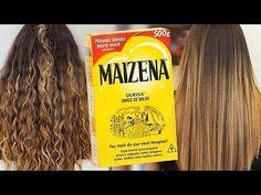 ALISAMENTO NATURAL com MAIZENA e LEITE - YouTube
