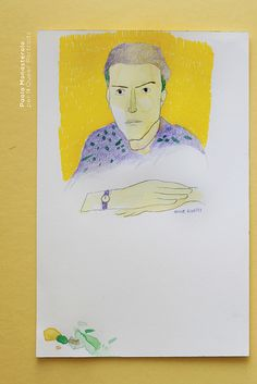 Hervé Guibert, di Paola Monasterolo. QUEER PORTRAITS, 4. - feat. Federico Boccaccini www.federiconovaro.eu