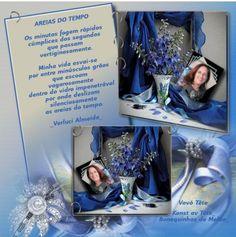<3 AREIAS DO TEMPO by Vovó Tetê, minha amiga querida Terezinha Maraschin