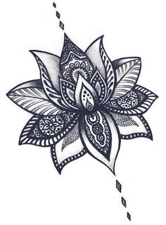 Easy to draw lotus flower cool flower drawing lotus flower tattoos tattoo designs lotus flower tattoo .