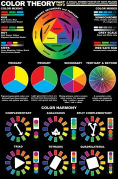 Use the color wheel to find interesting and harmonious color combinations in . - Use the color wheel to try out interesting and harmonious color combinations in your clothing: C - Graphisches Design, Graphic Design, Color Combos, Color Schemes, Color Trends, Color Psychology, Psychology Meaning, Psychology Studies, Psychology Facts