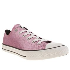 5808453befe8 Girl  Pink Converse All Star Glitter Trainers