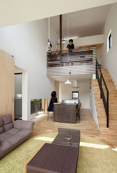 Niu House - Japanese House - Yashihiro Yahomoto Architect Atelier - Nara - Japan - Loft - Humble Homes