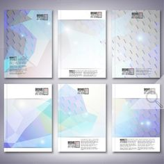 Check out Hexagonal brochure or flyer patterns by VectorShop on Creative Market