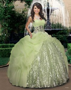 Disney Royal Ball Quinceanera Dress Tiana Style 41008