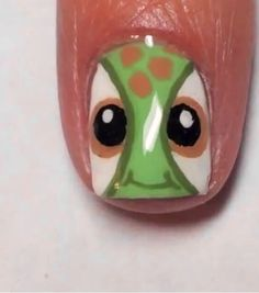 ~ Disney Squirt from Finding Nemo Nail Art ~