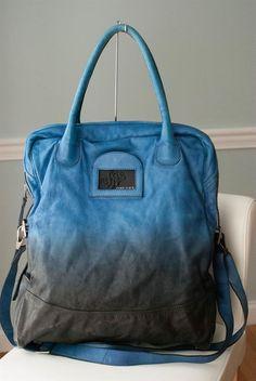 3e07e142c8 Diesel Blue Uffie Night Warrior Fade Handbag Purse