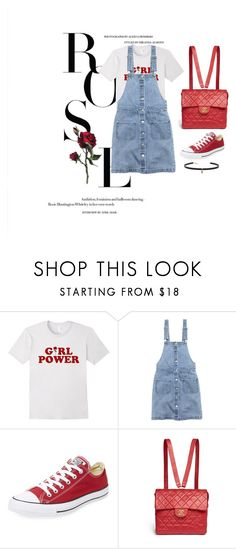 """Day #80"" by andick on Polyvore featuring moda, H&M, Converse, Chanel e Carbon & Hyde"