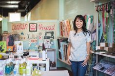Common Thread Studio Founder and Owner Jin Kim #theeverygirl #careerprofile