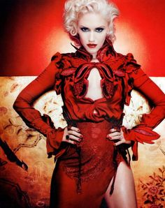 Gwen Stefani (In Style Magazine). I have this and the whole Gwen article and spread is awesome!!!