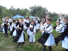 Traditional Dance of Sprig - Alba County  www.antrecalba.ro