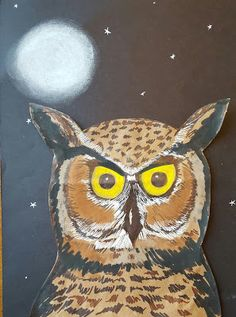 MaryMaking: Paper Bag Owls and the Sharpie Art Workshop for Kids Giveaway!