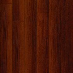"Diamond Bay's unique ""diamond finish"" brings the dramatic visuals of exotic hardwoods to life with incredible clarity and depth of color, all with the durability and easy care of a laminate. <br />"