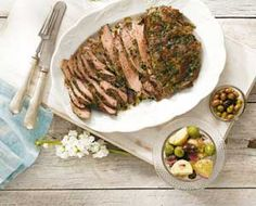 Why we love barbecued butterfly lamb 1. Great for a family barbecue or serving lots of guests. 2. So easy! 3. Leftovers make delicious sandwiches. SEE ALSO: LAMB SHOULDER WITH SOY, LEMON AND GARLIC  Ingredients 1.5kg lamb leg, boned and butterflied 2 tbsp chopped fresh parsley 2 tbsp chopped capers Grated rind and juice one small lemon 1 tbsp olive oil Freshly ground pepper and salt Salad to serve SEE ALSO: PERFECT ROAST LAMB  Directions 1. Preheat the barbecue to 200 degrees C (the ...