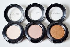 MAC Eyeshadow in Vanilla, Jest, and Amber Lights www.lustforlipgloss.com