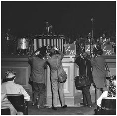 Lionel Hampton. Concertgebouw Amsterdam, March 24, 1956.     © Hans Buter Duke Ellington, Kinds Of Music, Good Music, Photo Credit, The Hamptons, Amsterdam, Jazz, March, Concert