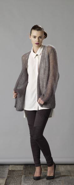 Example of Weathering The Storm Cardigan