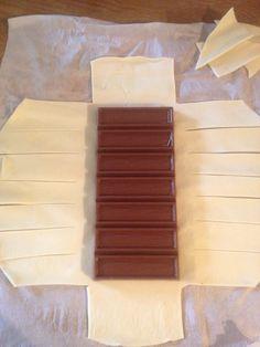 Feuilleté chocolat