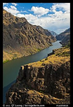 Hells Canyon National Recreation Area at the Oregon/Idaho border.
