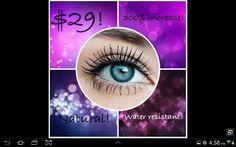 Fantastic 3D Fiber Lash Mascara from Younique Products!   Gives it a try...you won't be disappointed!!!Www.youniqueproducts.com/sheryldunn