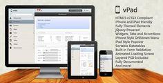 ThemeForest - vPad - HTML5+CSS3 App Framework  Free Download