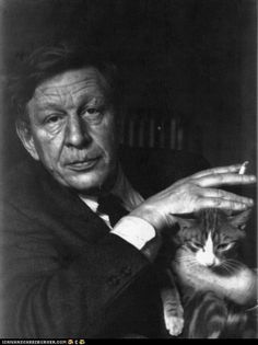 Writers and their cats - W.H. Auden