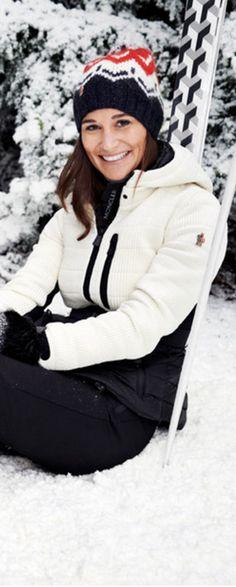 Who made Pippa Middleton's white coat?